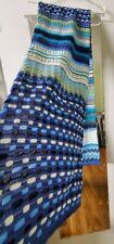 Missoni scarf new blue multicolored