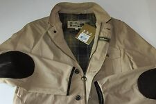 Barbour Jacket Coat Summer Lutz Stone MCA0349ST51 New Large  L Euro Cut