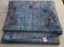VINTAGE Sheridan Trapuntato Letto copertura lettino diffusione di grandi dimensioni 240 CM x 260 cm floreale