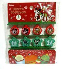 Christmas DISNEY MICKEY MINIIE   Food Picks pick for Lunch Box Bento 8pcs