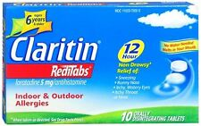 CLARITIN 12 Hour Reditabs 5 mg Orally Disintegrating Tablets 10 Tablets
