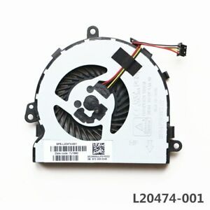 L20474-001 HP 15-DB0011DX 15-DB2000NG 15-DB1010NM TPN-C136 Cpu Lüfter Fan