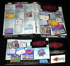 MENACER 6 Games PAL España Sega MEGADRIVE Mega Drive Genesis MD