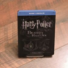 Harry Potter and the Deathly Hallows Part 1 Blu-ray Steelbook Import Year 7 One