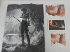 Tomb Raider Video Game Collectibles (Map, Art Book, Lithograph, Soundtrack) NEW