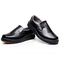 New Men Women Chef Shoes Restaurant Cook Working Flats Safety Anti-Slip Loafers
