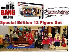 LEGO The Big Bang Theory 21302 SUPERHERO  Editon minifigures 7+5 bonus Free Ship
