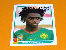 397 N'KOULOU CAMEROUN PANINI FOOTBALL FIFA WORLD CUP 2010  COUPE DU MONDE