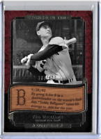 Ted Williams 2003 Upper Deck Etched In Time Etched in Wood 288 of 400 Limited