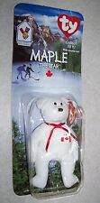 1999 TY McDonalds MAPLE THE BEAR - New in Package ERRORS