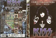 kiss video collection 1974-2002 2 dvds scorpions ozzy dio whitesnake