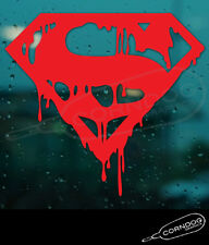Death of Superman STICKER VINYL DECAL DC COMICS LEX LANE BAIN BATMAN CLARK KENT
