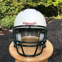 RIDDELL Youth Football Helmet LARGE White / Green Recertified 2019