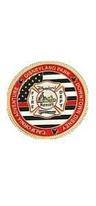 Disneyland Park Fire Department Challenge Coin - Disney Protecting the Magic