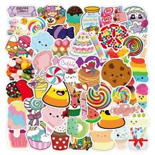 Sweet Candy Stickers - 50 Pcs