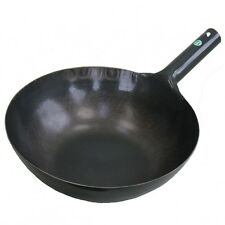New Yamada Kogyo place iron repousse wok  one-handed. board thickness 1.2mm 24cm