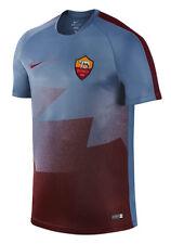 Nike AS Roma Flash Pre-Match Training Shirt Top Jersey 2015/16 New Ocean Fog S