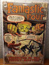 Fantastic Four #8 (1962) Mylar - 1st App. of the Puppet-Master