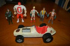 Vintage Ghostbusters Action Figures Scare Features, Tombstone Tackle, Race Car