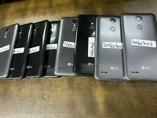 LG Artisto 2 - 16GB - BLACK/GRAY UNLOCKED!! USED LOT OF 8