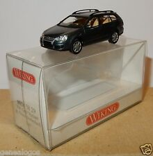 MICRO WIKING HO 1/87 VW VOLKSWAGEN GOLF V VARIANT BLEU VERT METAL IN BOX