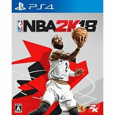 NBA 2K18 SONY PS4 PLAYSTATION 4 JAPANESE VERSION