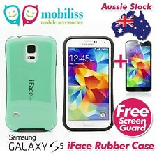 iFace Anti-Shock Heavy Duty Rubber Case Cover for Samsung Galaxy S5 i9600 Green