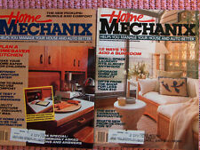 Lot of 2 Home Mechanix Oct. Nov. 1986 many articles, cars, projects, etc
