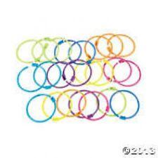 Pony Bead Bracelets (set 12)