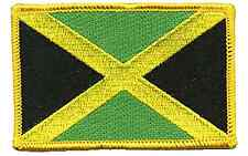 JAMAICA FLAG EMBROIDERED IRON ON PATCH