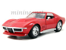 JADA BIGTIME 96891 1969 69 CHEVY CORVETTE STINGRAY ZL-1 1/24 DIECAST RED