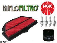 KIT REVISION Bougie filtre à air huile moto Suzuki GSX-R 600 750 2006/2011 NEUF