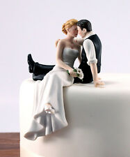 The Look of Love Romantic Wedding Cake Topper Customized Hair or Shoes Available