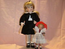 Wendy Lawton American Artist  Madison & McGuffey Doll 2 pc Set MIB