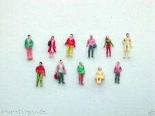 5000 x Train Model 1:150 Scale Painted Figures People N