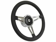 1969 - 1989 Rally Sport RS / Slot Spoke Leather Steering Wheel, Hub & Button