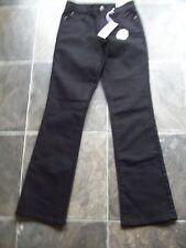 BNWT Women's Rockmans Black Stretch Boot Leg Jeans Size 8