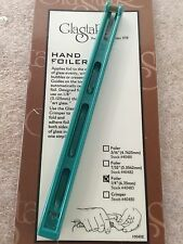 "Glastar Hand Foiler 1/4"", Stained Glass Supplies, Glass Foiler"