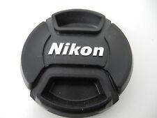 NIKON SNAP CAP FRONT LENS CAP 52MM WITH SILVER LOGO