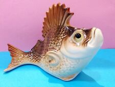 Porcelain figurine Fish large perch Souvenirs from Russia high-quality figurine