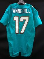 #17 MIAMI DOLPHINS RYAN TANNEHILL TEAM ISSUED JERSEY SZ-42 YR-2014 TEXAS A&M