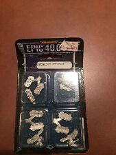 Epic 40K Ork Wartraks Orks War Traks - OOP - Epic Armageddon Warhammer