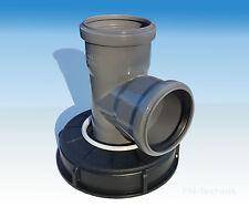 IBC Filtre de couverture À EAU PLUIE d'eau NW 150 HT bifurquent DN 75