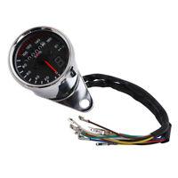 Universal Motorcycle 12V Speedometer Tachometer Speedo Meter 0-160 km/h