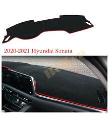 RED For Hyundai Sonata DN8 2020-21 Inner Dashboard Dash Mat Sun Cover Pad 1PCS