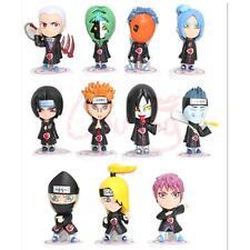 "11Pcs Anime Naruto Shippuden Akatsuki Members Figure 3"" PVC"