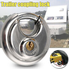 Universal Trailer Hitch Coupler Tongue Steel Duty Coupling Ball Locking Tool UK