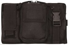 triple panel pouch modular molle black fox tactical 56-831
