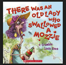 There Was an Old Lady Who Swallowed a Mozzie - PAPERBACK Scholastic BRAND NEW