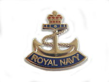 Royal Navy Anchor Military Lapel Pin Badge